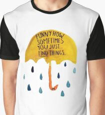 """HIMYM: """"Funny how"""" Graphic T-Shirt"""