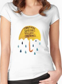 "HIMYM: ""Funny how"" Women's Fitted Scoop T-Shirt"
