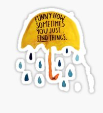 "HIMYM: ""Funny how"" Sticker"