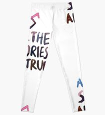 All the stories are true (watercolor) Leggings