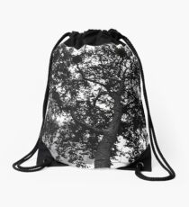 Tree at Leicester Square, London Drawstring Bag