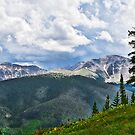 View from atop Winter Park Mountain 1  by Robert Meyers-Lussier