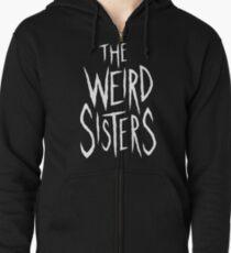 Sudadera con capucha y cremallera The Weird Sisters - Blanco