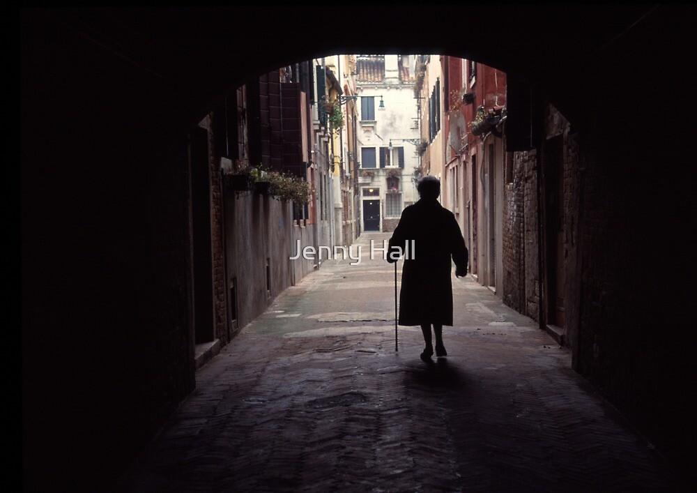 Walking in Venice by Jenny Hall
