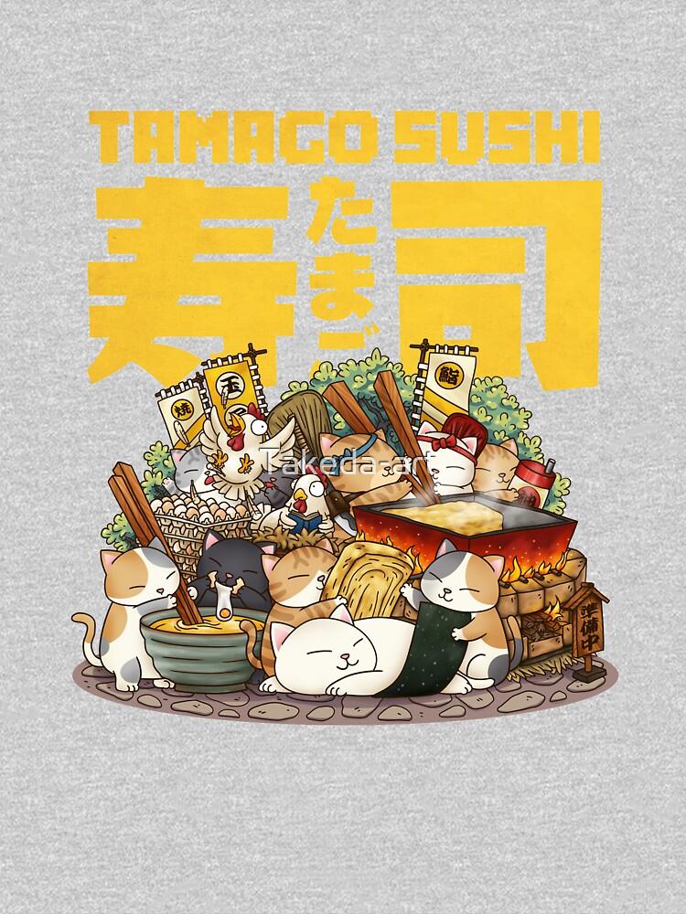 Cat Tamago Sushi Workshop by Takeda-art