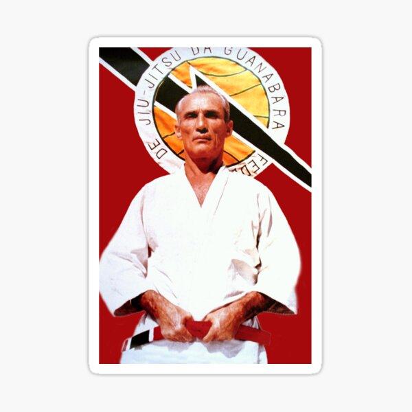 Helio Gracie - Famed Brazilian Jiu-jitsu Grandmaster Classic  Sticker
