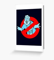 Force GhostBusters Greeting Card