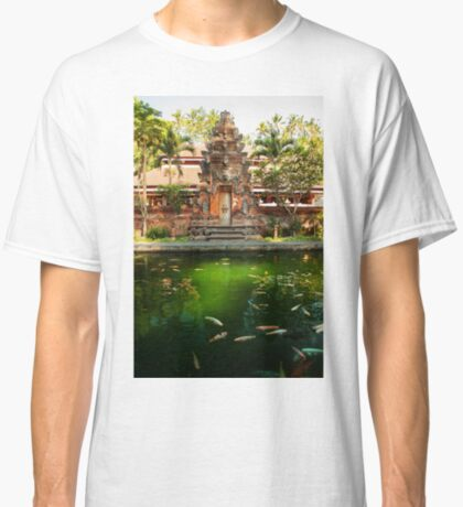 Peaceful Pools, Tirta Empul. Classic T-Shirt