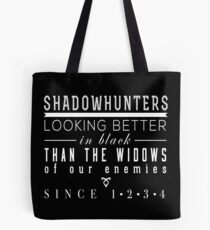 "The Mortal Instruments: ""Shadowhunters"" Tote Bag"