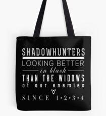 """Bolsa de tela Los instrumentos mortales: """"Cazadores de sombras"""""""