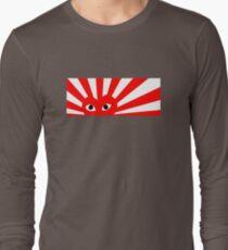CDG Play x Rising Sun Long Sleeve T-Shirt