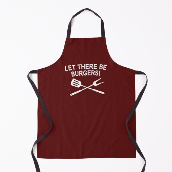 Let There Be Burgers! Apron