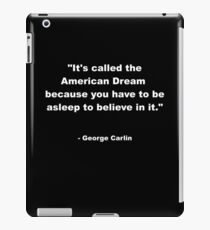 George Carlin iPad Case/Skin