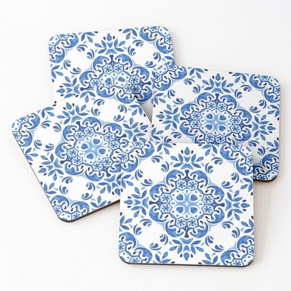 Mediterranean Tile 2 Coasters (Set of 4)
