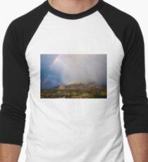 A Desert Storm Men's Baseball ¾ T-Shirt