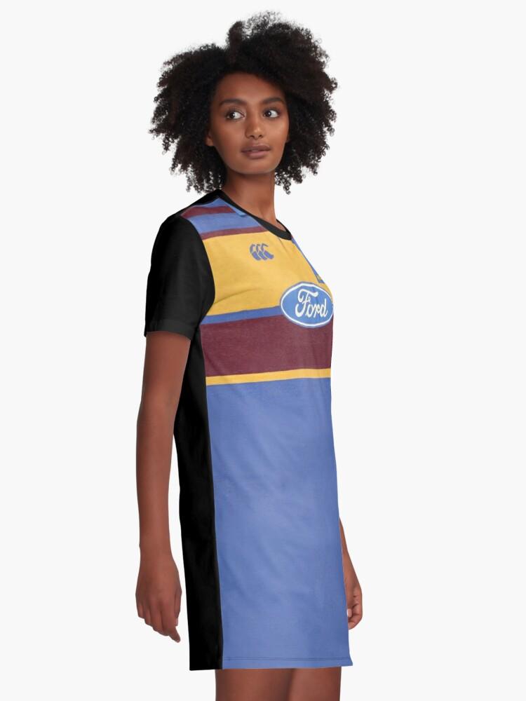 bd7cd0759e9e4 Alternate view of Super Rugby - Otago Highlanders 1999 Graphic T-Shirt Dress