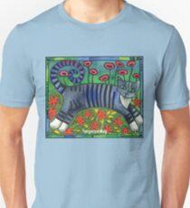 Striped Cat of Stripey Joy Unisex T-Shirt