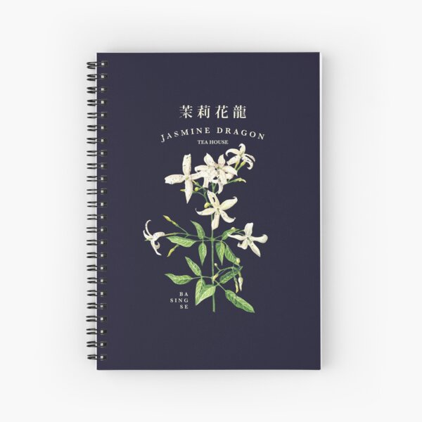 Jasmine Dragon Tea House Spiral Notebook