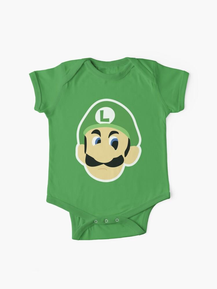 Luigi S Death Stare Baby One Piece