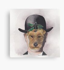 Surreal Welsh Terrier Canvas Print