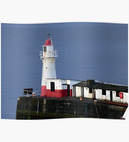 Newlyn Lighthouse Poster