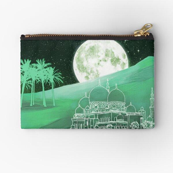 Mystic Persian Moon Zipper Pouch