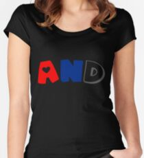 And (Polyamory) Women's Fitted Scoop T-Shirt