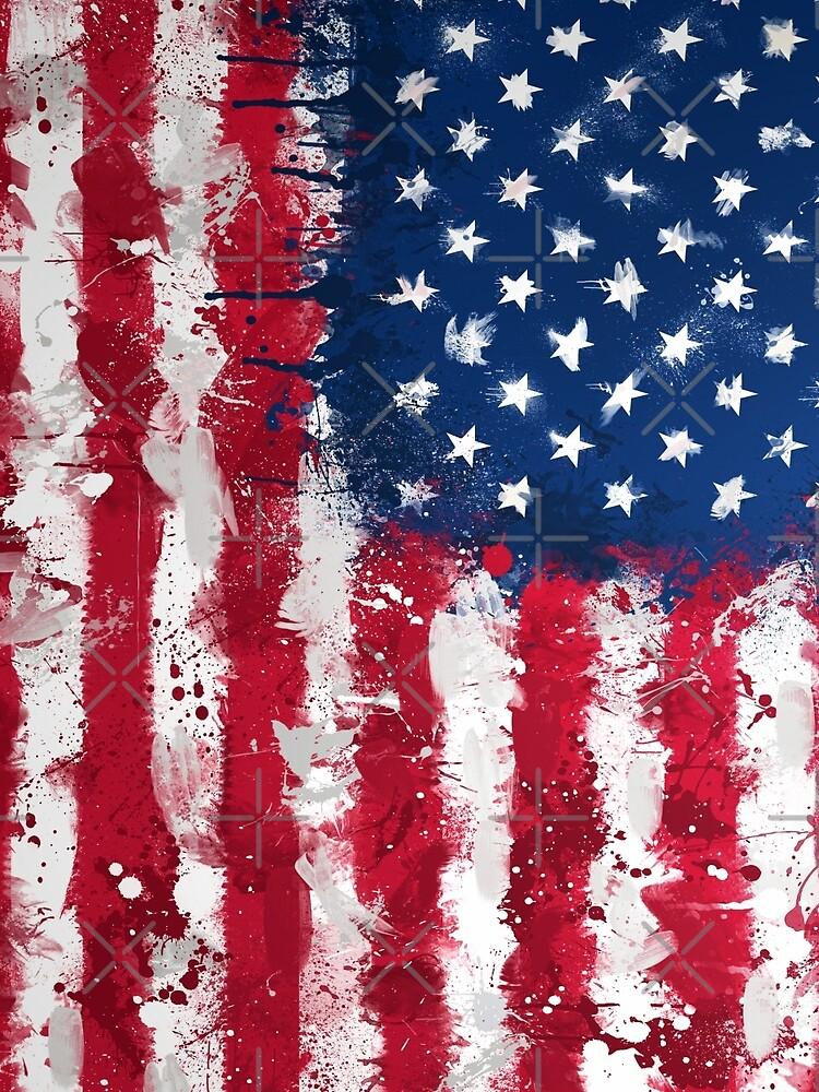 American Flag - Grunge by GrizzlyGaz