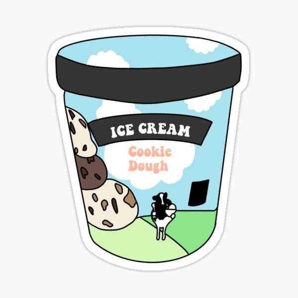 ice cream jar  Sticker
