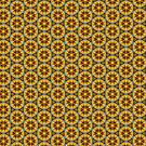 Geometric Sunflower | Pattern by ARTDICTIVE