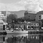 Winter, Constitution Dock, Hobart by BRogers