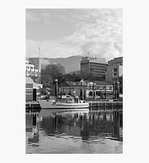 Winter, Constitution Dock, Hobart Photographic Print
