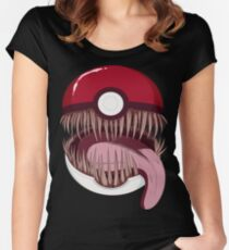 Mimic Ball Women's Fitted Scoop T-Shirt
