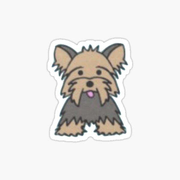 silky terrier Sticker