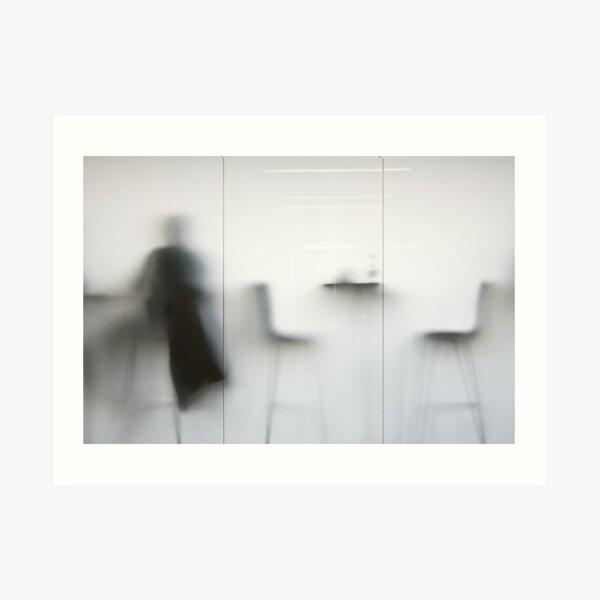 Ghost cafe Art Print