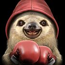 SLOTH BOXER by MEDIACORPSE