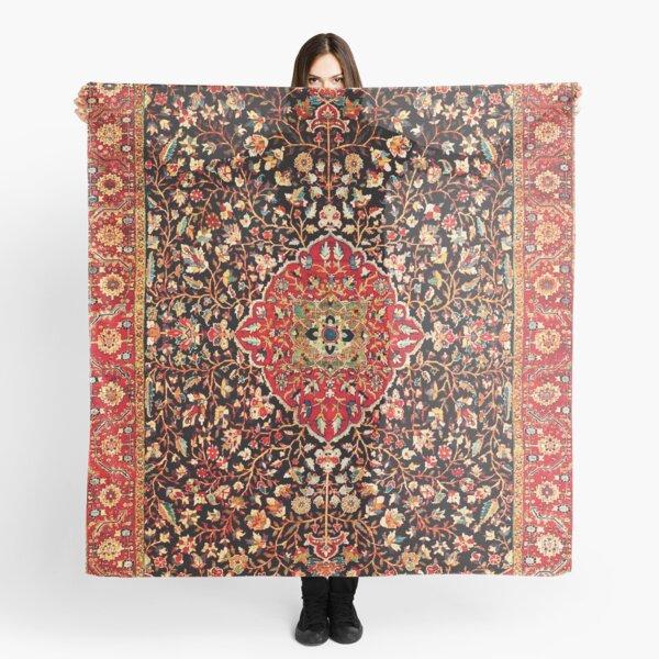 Serapi Heriz Persian Carpet Print Scarf