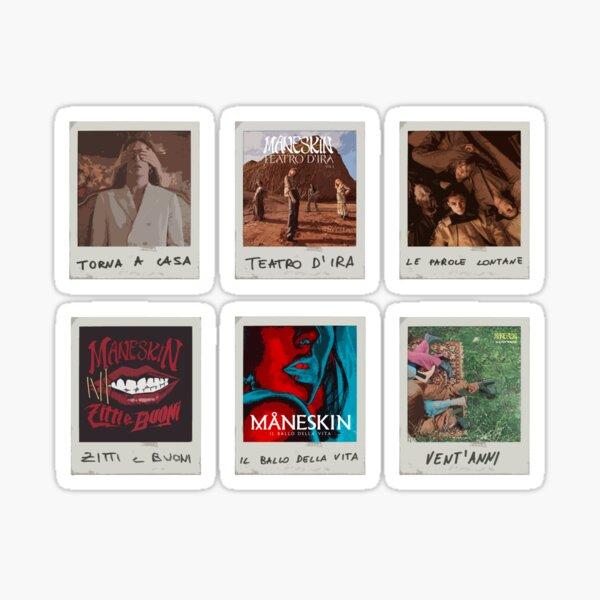 Ensemble Maneskin Polaroid II Sticker