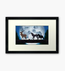 Prongs, Wormtail, Moony and Padfoot Framed Print