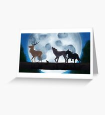 Prongs, Wormtail, Moony and Padfoot Greeting Card