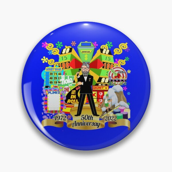 TV Game Show - TPIR (The Price Is...) 2022 50th Anniversary Pin