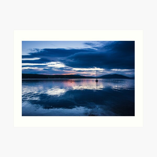 Rothesay Bay After Sunset Art Print