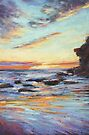 Sunrise - Warriewood Beach by Terri Maddock
