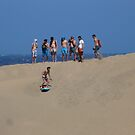 Sand Dune Surfing by jonvin