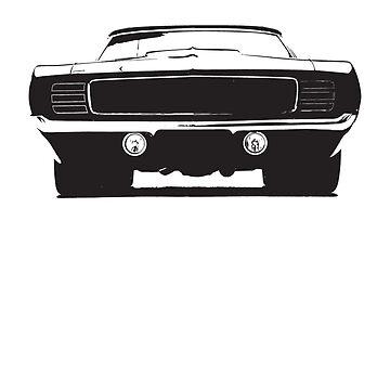 Muscle Car Camaro by concuido