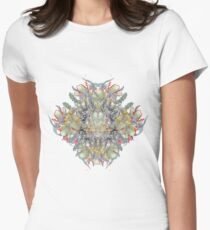 Psychedelic flower red bouquet T-Shirt