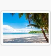 Beautiful tropical beach Sticker