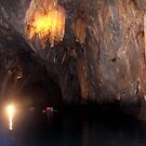 Cave with Underground River by lensbaby