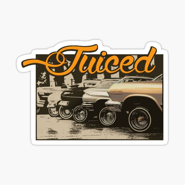 Juiced lowrider collection Sticker