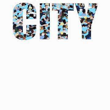 We Are City (versión de camiseta) de Ra12